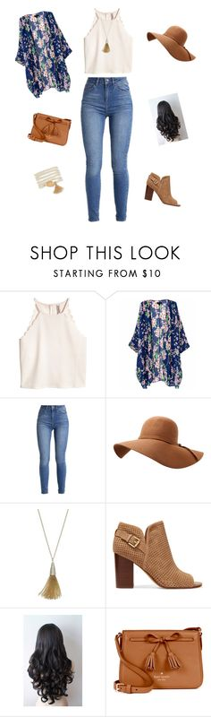 """""""Tassel for an outfit"""" by jess-stylist22 on Polyvore featuring Jennifer Lopez, Sam Edelman, Kate Spade and Aéropostale"""