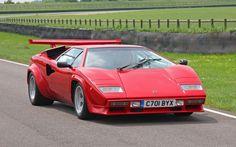 The Ten Best Italian Cars Ever Made - Lamborghini Countach Ferrari 288 Gto, Ferrari Laferrari, Maserati, Chevrolet Camaro, Chevrolet Corvette, Chevy, Bmw M1, Porsche 911 Gt2, Volvo S60