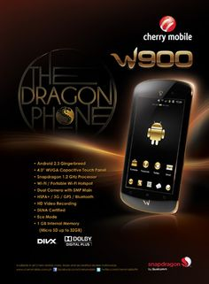 Cherry Mobile W900: The Dragon Phone for Php9,999