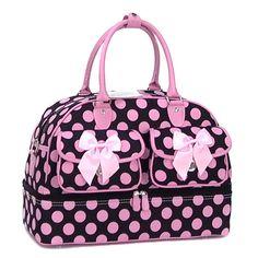 Polka Dot Rounded Bag
