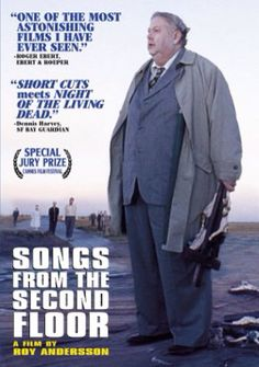 Songs from the Second Floor 2000 [imdb RUBBISH! Surreal n dark. Watched first half hour. Roy Andersson Cannes Film Festival, winning the Special Jury Prize. 5 Guldbagge's. Movie List, Movie Tv, Movies To Watch, Good Movies, Cult Movies, Roy Andersson, Luis Bunuel, Cheap Watches For Men, Nervous Breakdown