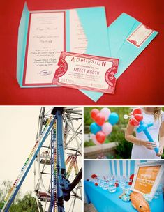 Doug + Paige's Fun Carnival Real Wedding | Green Wedding Shoes Wedding Blog | Wedding Trends for Stylish + Creative Brides