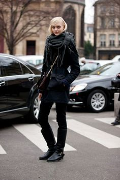 Photos: Best-Dressed Street Style at Paris Fall Fashion Week 2013 | Vanity Fair