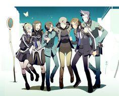 Persona 2 Cast