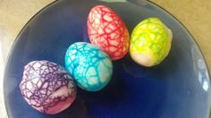 My Marbled Easter Eggs