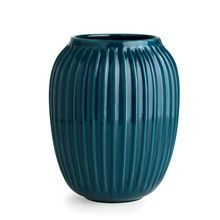 Kähler Hammershøi Vase H200 Petroleumsblå