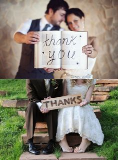 5 pictures to be taken at your wedding. Thank you