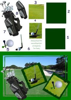 A male card for a man that loves golf, or a lady that loves golf, can be sent for any reason, birthday, get well etc, in a easy to make step by step design. fit A5 envelope