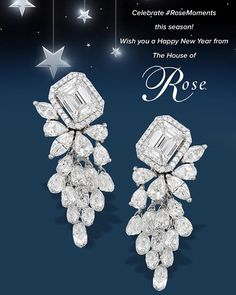 """""""Usher in the #newyear with #rosemoments  #happynewyear #2016 #jewellery #luxury…"""