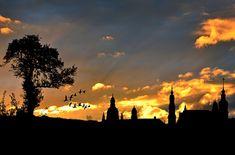 Kostenloses Bild auf Pixabay - Stadtansicht, Abendhimmel