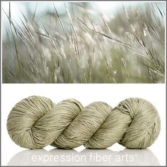 Silk /& IVORY-PEWTER-217-1 SKEINS with This Listing