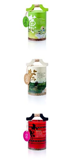 青山藏香 包装设计 I want some of these tea cookies in beautiful packaging PD