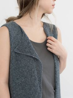 Axis Vest with Kavo: Neck Detail