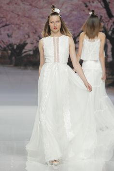 View entire slideshow: Barcelona Bridal Fashion Week's Best Dressed on http://www.stylemepretty.com/collection/5207/