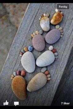 Little feet.