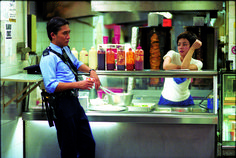 Chungking Express Hong Kong drama film written and directed by Wong Kar-wai. Hk Movie, Hong Kong Movie, Movie Photo, Dandelion And Burdock, Chungking Express, Roger Deakins, Requiem For A Dream, Aesthetic People, Film Inspiration