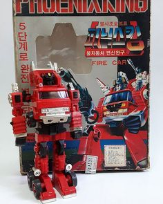 1984년 진양과학 불사조 로보트 피닉스 킹 완구. 의외로 완구는 인기를 끌어 80년대 후반까지 계속 생산되었다. / since1984 korea fake animation phoenix robot Phoenixking toy (Trans formers- G1 INFERNO bootleg pachi Animation) @jangseon.hwang #1984#southkorea #PhoenixKing#fake#animation #bootleg #toy #1984년 #피닉스킹 #진양과학#불사조로보트피닉스킹#Jinyangtoys #vintage #고전#figure #만화영화#고전완구#고전프라 #Transformers#트랜스포머G1 #inferno#mp33#hellfire #defendersofspace #autobot #피규어#수집 #collection #takara#pachi