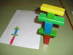 Petits Grans Artistes!: Racons d'aprenentatge. dibuixar la construcció