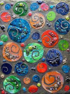 Spiral Beach - Delphi Stained Glass Artist- Kelley Knickerbocker...LOVE this!