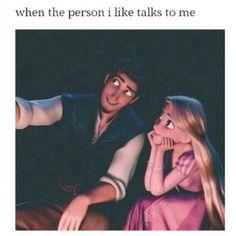 19 Reasons Rapunzel And Flynn Rider Are The Best Disney Couple Funny Relatable Memes, Funny Jokes, Hilarious, Disney Memes, Disney Cartoons, Cute Crush Quotes, Quotes Quotes, Christian Humor, Christian Guys