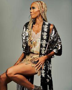 Brown Skin, Kimono Top, Celebrities, Color, Tops, Women, Fashion, Moda, Celebs