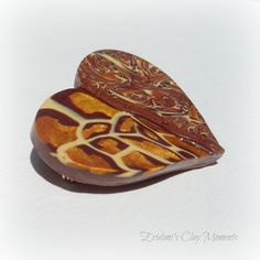 Your place to buy and sell all things handmade Biscuit, Polymer Clay, Brooch, Heart, Unique Jewelry, Handmade Gifts, Accessories, Etsy, Fimo