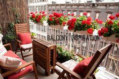 Apartment balcony ideas (ikea)