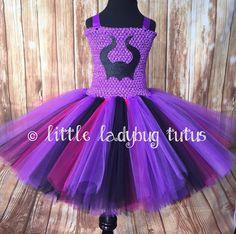 Mal Tutu Mal Tutu Dress Girls Mal Tutu Girls por LittleLadybugTutus
