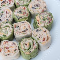 Southwest Chicken Pinwheels -  From_Valeries_Kitchen