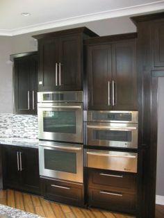 The kitchen ovens