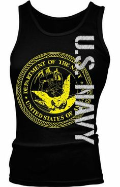 US Navy Tank Top! Show your support for our Sailors!