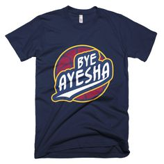 "Image of Limited Edition ""Bye Ayesha"" Navy Blue T-shirt"