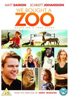 """Un lugar para soñar"" (Cameron Crowe, 2011) con Matt Damon, Scarlett Johansson y Thomas Haden Church."