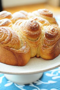 Brioche Bouldouk d Isa My Recipes, Gourmet Recipes, Cooking Recipes, Croissants, No Sugar Foods, Russian Recipes, Sweet Cakes, Sweet Bread, Coffee Cake