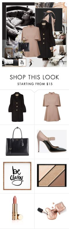 """Be Classy,Always"" by rainie-minnie ❤ liked on Polyvore featuring Burton, Burberry, Valentino, Prada, DENY Designs and Elizabeth Arden"