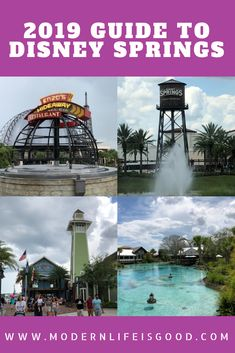 Guide to Disney Springs for Beginners 2019