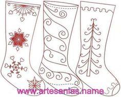 Artesanias022 Botas de fieltro para Navidad
