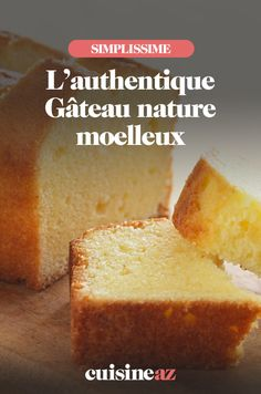 Gâteau nature moelleux - The Best For Dinner Recipes Pureed Food Recipes, Chef Recipes, Cooking Recipes, Mini Cheesecake Recipes, Pecan Cheesecake, Easy Cake Recipes, Easy Desserts, Dessert Recipes, Desserts With Biscuits