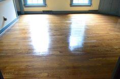 Wax On, Wax Off (re-sealing wood floors) // young house love