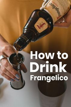 Frangelico can be enjoyed on the rocks or mixed into cocktails for its sweet, nutty, and complex dessert like flavors. Whiskey Sour, Whiskey Drinks, Bourbon, Dessert Drinks, Yummy Drinks, Delicious Desserts, Wafer Cookies, Vanilla Cream, Cocktail Making