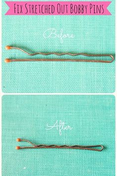 Bonus: A quick fix for all of those stretched out bobby pins you've got lying around? Pliers. | 21 Bobby Pin Hairstyles You Can Do In Minutes
