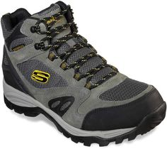reputable site bd99c 43f21 Skechers Relaxed Fit Rolton Elero Men s Waterproof Hiking Boots