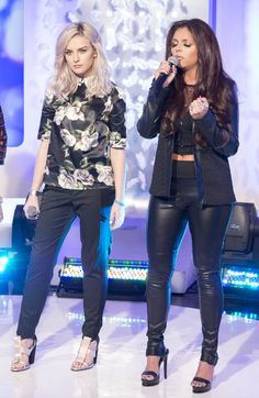 Perrie Edwards & Jesy Nelson