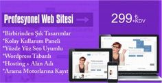 Sadece 299 TL'ye profesyonel bir web sitesi sahibi olabilirsiniz. Detaylar için lütfen aşağıdaki linki izleyin http://www.markaweb.net/web-paketleri/profesyonel-web-sitesi-sadece-299-tl/