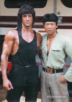 A gallery of Rambo: First Blood Part II publicity stills and other photos. Featuring Sylvester Stallone, Julia Nickson, Richard Crenna, Andy Wood and others. Rambo 2, John Rambo, Hollywood Actor, Hollywood Stars, Sylvester Stallone Rambo, Stallone Movies, Stallone Rocky, Silvester Stallone, First Blood