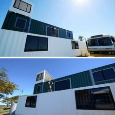 THE HUMMOCK SHIPPING CONTAINER HOUSE