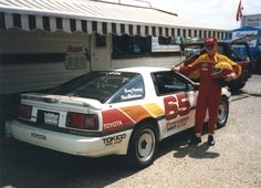 99th car - 22nd race car - 1986 Toyota Supra Turbo - Another team I drove for was the Craig Horning Toyota Team and I did this one race with them since Ray Korman was still repairing the BMW M3 after the Sebring problems plus blowing up the engine at the Riverside race a month later.