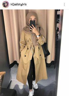 Muslim Fashion 805018502124972246 - Jaïda- Le coeur et ses balafres. – 🖤 – Wattpad Source by Stylish Hijab, Modest Fashion Hijab, Modern Hijab Fashion, Muslim Women Fashion, Hijab Chic, Abaya Fashion, Outfit Look, Vetement Fashion, Muslim Girls