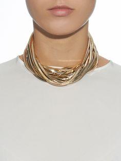 Schiava multi-layer chain necklace   Rosantica By Michela Panero   MATCHESFASHION.COM UK