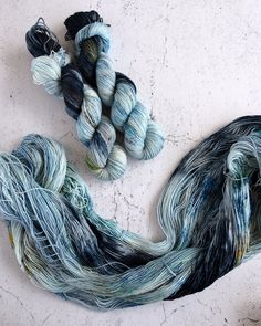 Lake Shore Drive - DK WEIGHT Hand dyed yarn inspired by Chicago - Destination Yarn